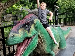T Rex Boy Danielle Walrath May 2020 Winner